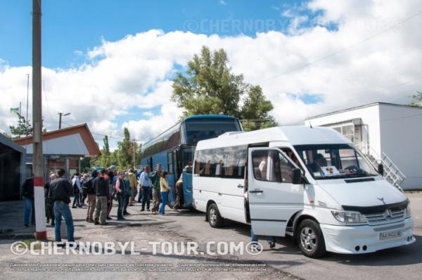 Туристы прошли контроль милиции